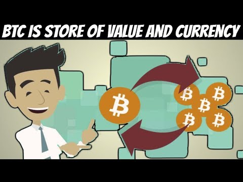 Bitcoin Is Store Of Value And Divisible Currency (Here Is Why)