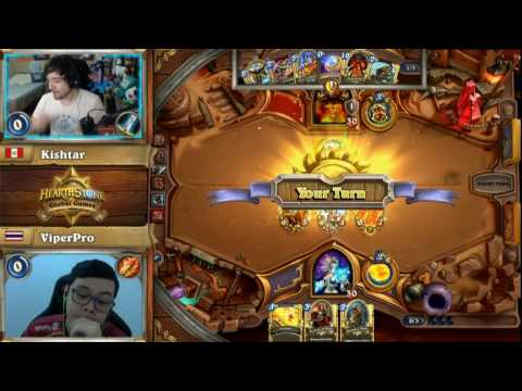 Hearthstone Global Games - Peru VS Thailand (พากย์ไทย)