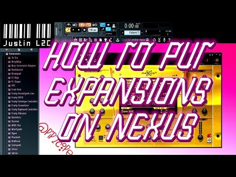 How to put Expansion Packs on to Nexus in Fl Studio ( .nxp , .fxp , ect )