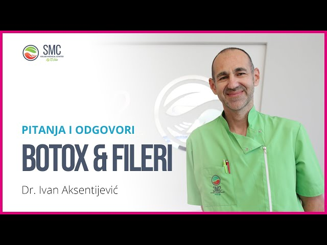 Pitanja i odgovori - Botox i fileri