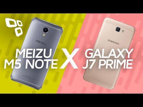 Meizu M5 Note vs. Samsung Galaxy J7 Prime: comparativo - TecMundo