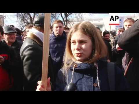 Anti corruption protests in Nizhny Novgorod