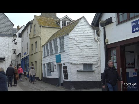 Exploring The Seaside Town Of Port Isaac On The North Cornish Coast.