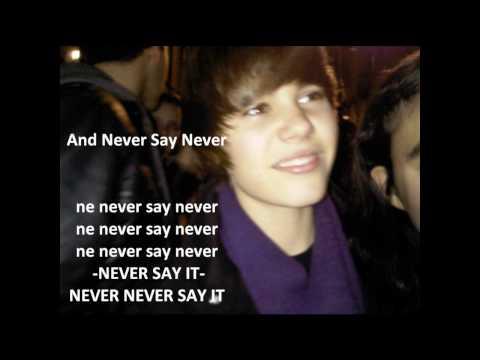 Never Say Never ( Lyrics ) - JB ft. JSmith
