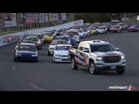 Mini Stock Feature Sept 9 2017 Sunset Speedway