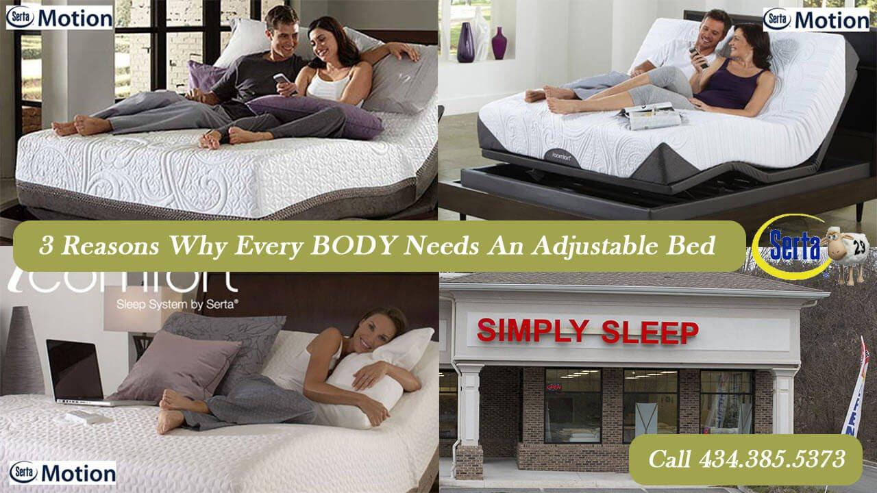 adjustable mattresses and bed frames simply sleep lynchburg va youtube