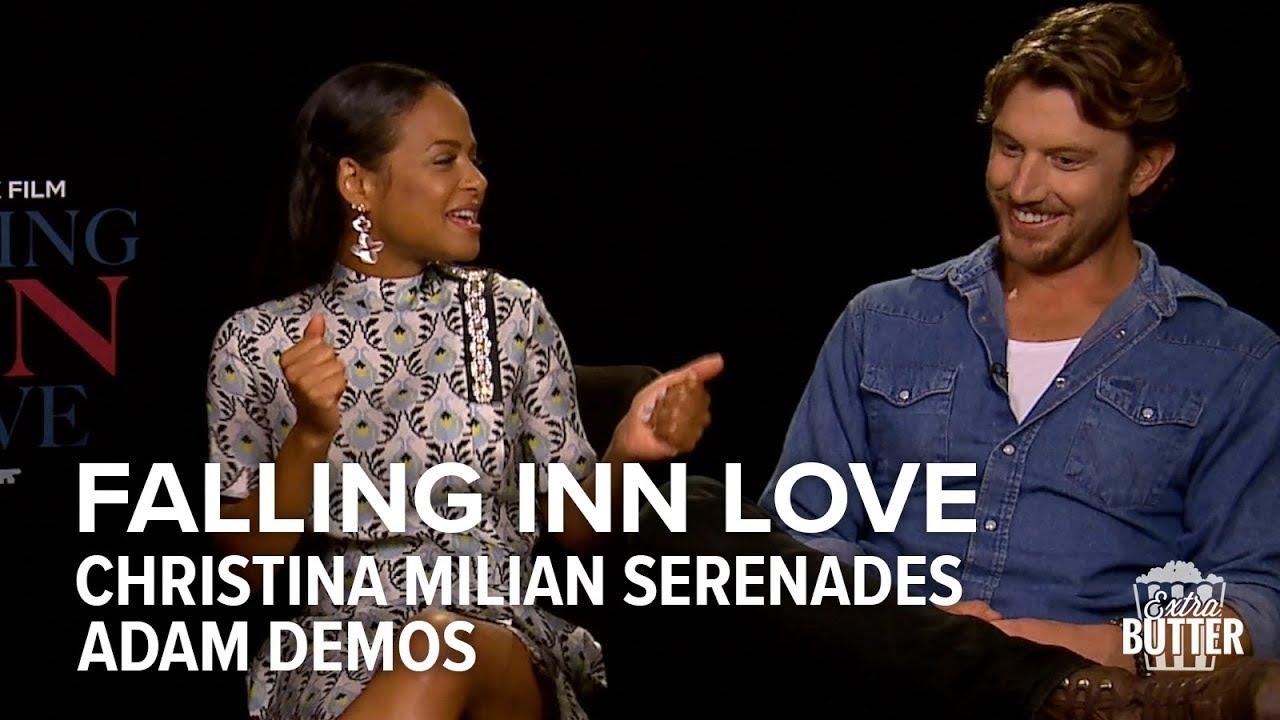 Download Falling Inn Love: Christina Milian serenades Adam Demos   Extra Butter