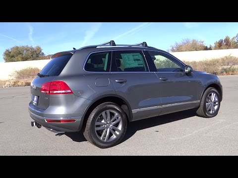 2016 VOLKSWAGEN TOUAREG Reno, Carson City, Northern Nevada, Roseville, Sparks, NV GD004999 - YouTube