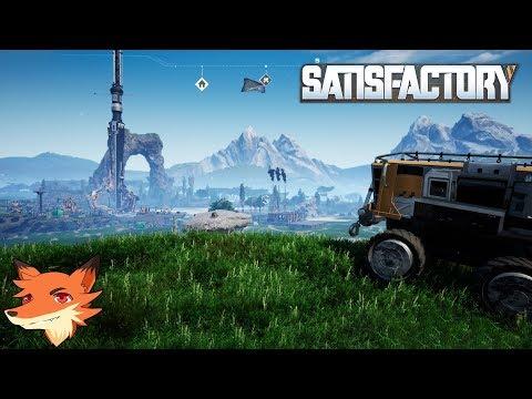 Satisfactory - Live #2 REDIFF - Charbon, pollution, véhicules... On teste les limites du jeu!