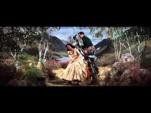 Cyd Charisse w/ Gene Kelly (1954) Brigadoon [Heather on the Hill]