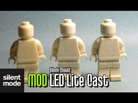 SilentMODs: LED Lite Resin Cast (block mould)