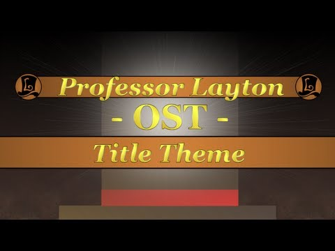 Save Professor Layton OST - All Title Themes Pics
