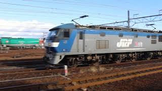 JR貨物 EF210-112(新) 入替 稲沢駅 通過