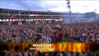 BEATSTEAKS - Jane Became Insane @ Rock Am Ring 2011 [HD]
