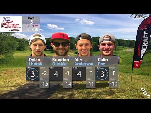 2017 PDGA US Amateur Championships   Round 3 Part 1