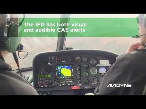 Avidyne IFDs for Helicopters