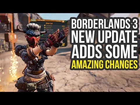 Borderlands 3 Update Adds A Lot of Great Changes (Bl3 Update) thumbnail