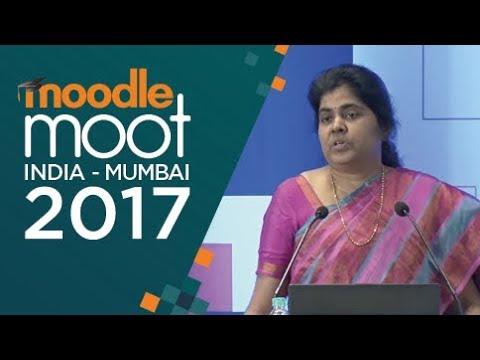 Creating Interactive Videos in Moodle Courses | Dr Indira Koneru | #MootIn17