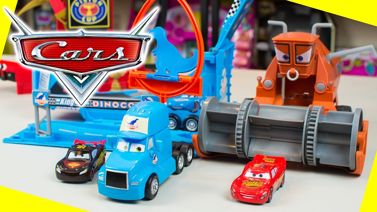 Disney Cars Lightning McQueen Toys Color Changers Playsets