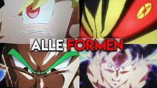 Ultra Instinct Goku & 'Green' Vegeta? | Alle Transformationen aus Dragon Ball Super Broly Erklärt