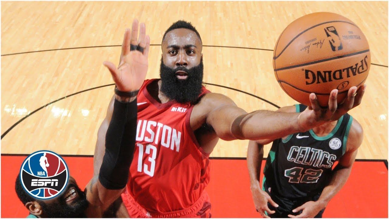 James Harden scores 45, Rockets stay red hot with win vs. Celtics | NBA Highlights
