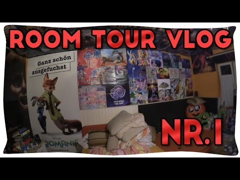Room Tour VLog #1 !! [Changes in Wall-Decoration] Giant Zootopia Poster!
