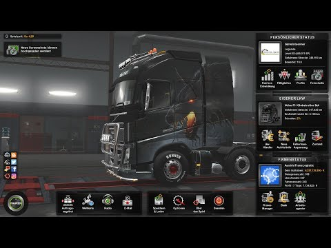 ETS2 MP★ Original Map ★ EU1  Convoy von Hamburg nach Bordeaux