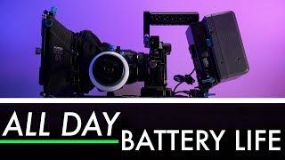 V-Mount Batteries - ALL DAY Battery Life!