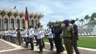 Présentation des Lettres de créance des Ambassadeurs d'Allemagne et du Maroc
