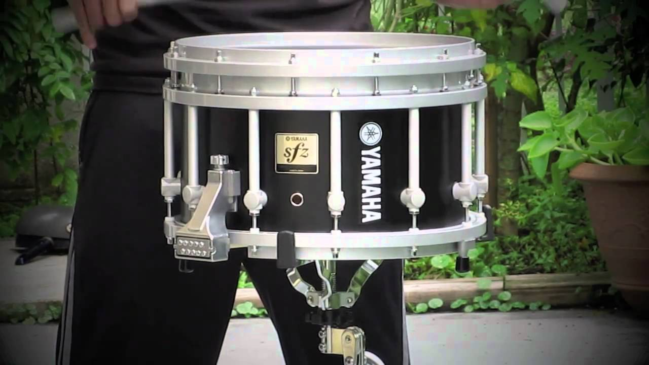 Yamaha Marching -Piccolo- Snare Drum - YouTube