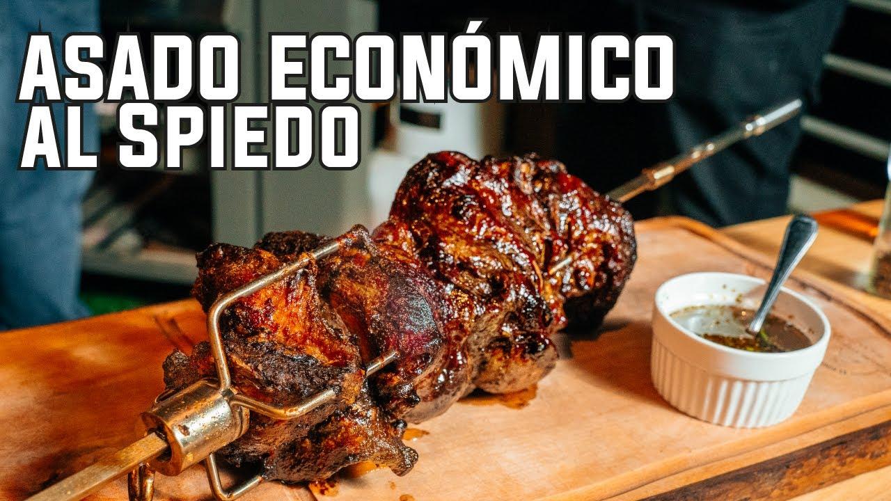 """Asado """"Económico"""" al Palo (spiedo), un Corte que te Sorprenderá!"""