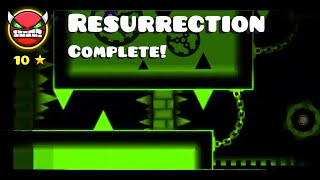 Geometry Dash - Hinds - Resurrection (by me)