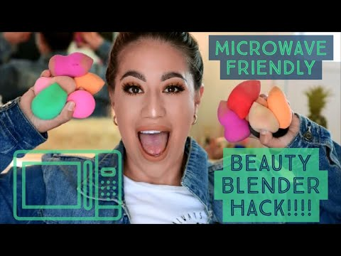 How to clean your beauty blender HACK!!!!