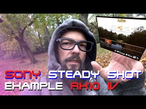 SONY STEADY SHOT: video image stabilization with RX10 iv (RX10 M4)