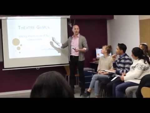 A workshop: English teaching games - Andy Travis