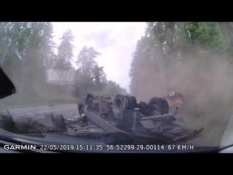 Смертельное ДТП в Псковской области