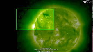 UFO near the Sun - Review of UFO activity for April 7, 2012. (HQ)