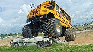 5 Monster Truck più Incredibili che Esistano al Mondo!