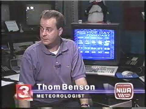 Part 4 - 2002 Veterans Day Tornado Outbreak Coverage from WRCB-TV  Chattanooga, TN