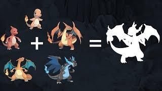 Pokemon Fusion Requests #83: Charizard Family.