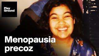 Se quedó menopáusica a los 14 y a los 30 se ha quedado embarazada.