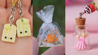 7 Polymer Clay + Resin Miniature DIYs | Tutorial Compilation