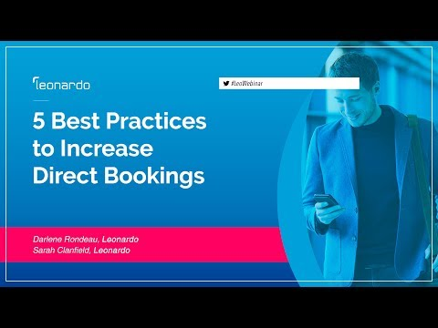 5 Best Practices Tips to Increase Direct Bookings