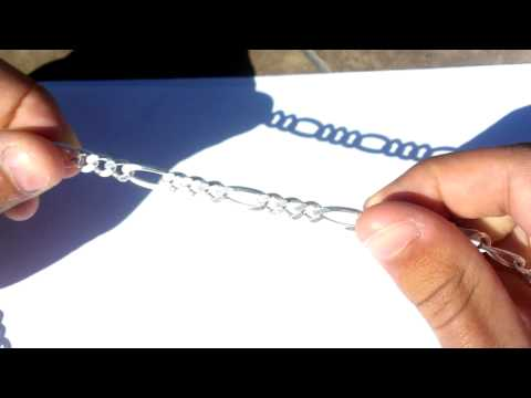 Silver Figaro Chain (925 Italy)