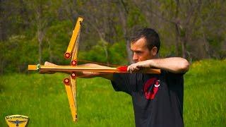 Как сделать лук обратной конструкции / How to make the bow Flipper