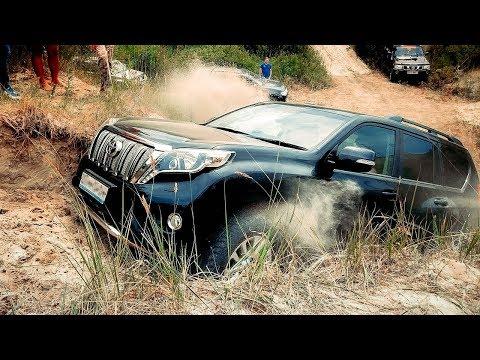 Тойота Прадо: дизель или бензин? СПОР двух владельцев Toyota Land Cruiser Prado 150  + Соболь 4х4