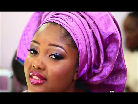 African Bridal Makeup and How to tie the gele