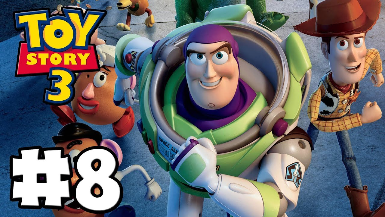 Scarecrow Toy Story 3 Game : Toy story the video game box mode episode hd