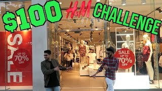 Wajeeh West | $100 H&M CHALLENGE WITH ADAM SALEH