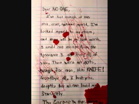 my suicide note d.i.c.e. - youtube
